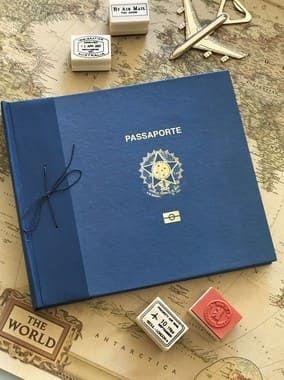 Álbum de Fotos - Passaporte