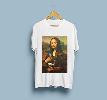 Camisa Unissex Monalisa Viajante