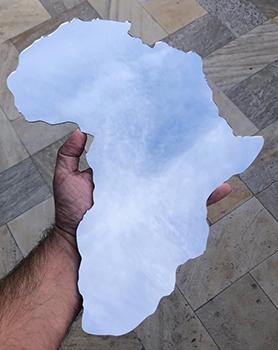 Mapa Mundi Espelho