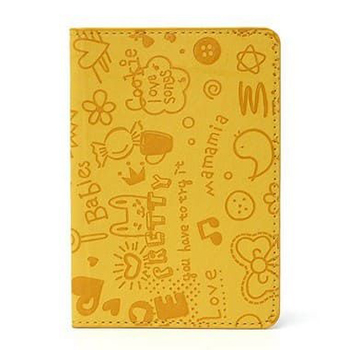 Porta Passaporte Cartoon- Amarelo