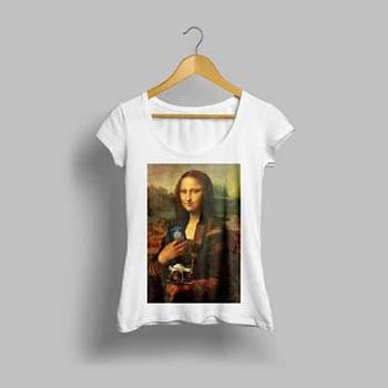 Camisa Feminina Monalisa Viajante