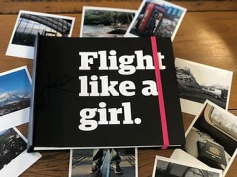 Álbum de Fotos - Flight like a girl