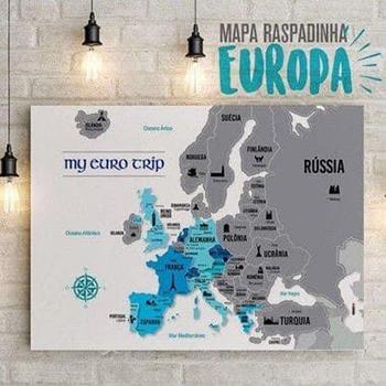 Mapa Raspadinha Europa