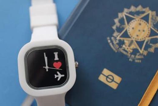 Relógio Go! I Love travel