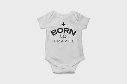 Body Born to Travel Branco