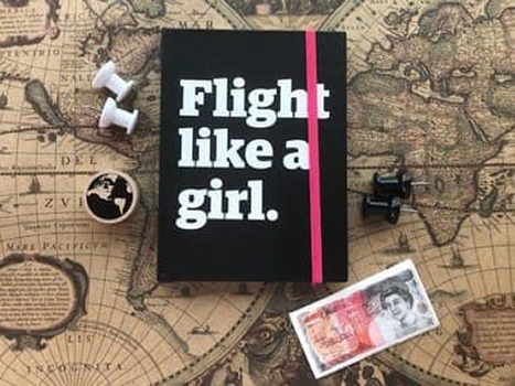 Moleskine - Flight Like a Girl