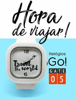 Relógio Go! - Travel The World