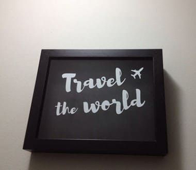 Cofre para Viajantes- Travel the World
