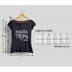 Camisa Feminina Wanderlust