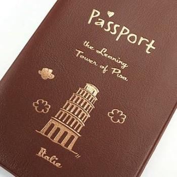 Porta Passaporte Itália - Pisa