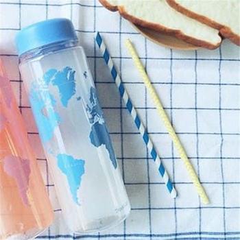 Garrafa Água Mapa Mundi